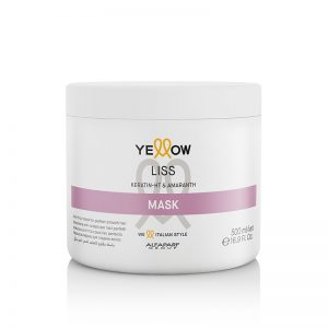 Hair in the City Yellow Liss Mask