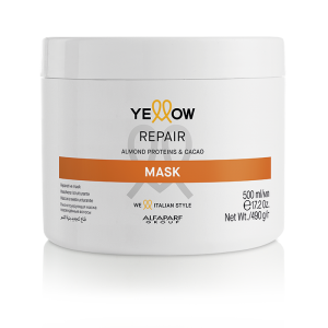 Hair in the city yellow repair mask